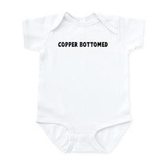 Copper bottomed Infant Bodysuit