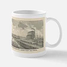 Baltimore and Ohio rail Road Tide-Water Terminus M