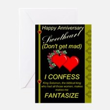 Funny wife Greeting Cards