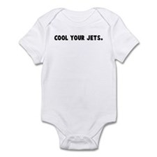 Cool your jets Infant Bodysuit