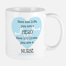Hero Nurse Mugs