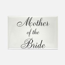 Mother of the Bride Black Script Magnets