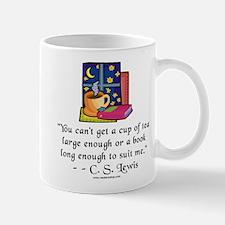 Tea & Books w Quote Mug