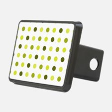 Yellow, Tricolor: Polka Do Hitch Cover