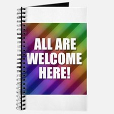 All Are Welcome Here Journal