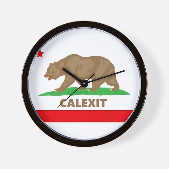 calexit Wall Clock