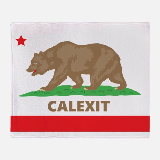 calexit Throw Blanket