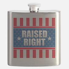 Raised Right Flask