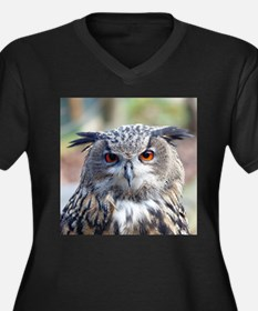 Eurasian Eagle-Owl Plus Size T-Shirt