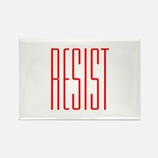 RESIST (red) Rectangle Magnet