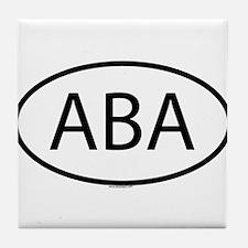 ABA Tile Coaster