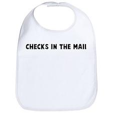 Checks in the mail Bib