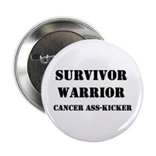 "Cancer Warrior 2.25"" Button"