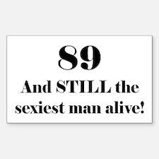 89 Still Sexiest 2 Black Decal
