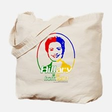 Hillary is my homegirl, color Tote Bag