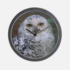 Funny Eule Wall Clock