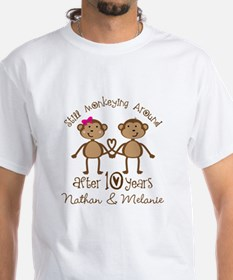 10th Anniversary Funny Personalized Gift T-Shirt