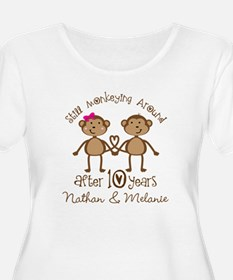 10th Anniversary Funny Personalized Gift Plus Size