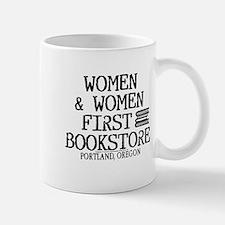 Women & Women First Bookstore Mug