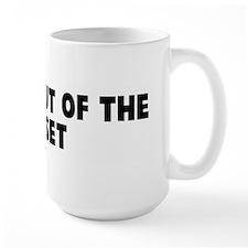 Coming out of the closet Mug