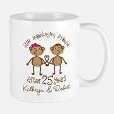 25th Anniversary Funny Personalized Gift Mugs