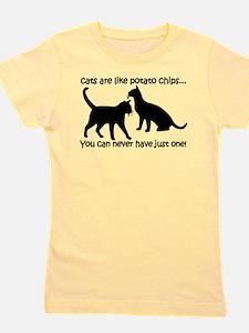 """Cats are like potato chips.. T-Shirt"