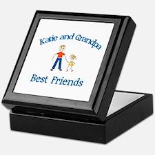 Katie & Grandpa - Best Friend Keepsake Box
