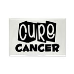 Cure Cancer Rectangle Magnet