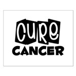 Cure Cancer Small Poster