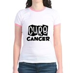 Cure Cancer Jr. Ringer T-Shirt