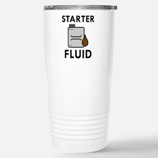 Starter Fluid Stainless Steel Travel Mug