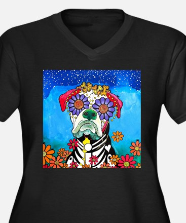 Zoey Marie, the Boxer Plus Size T-Shirt