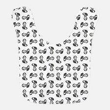 HONEST ABE Polyester Baby Bib