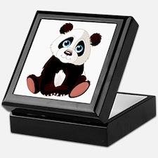 Cute Panda Keepsake Box