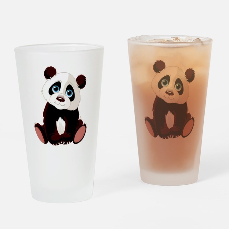 Cute Funny cubs Drinking Glass