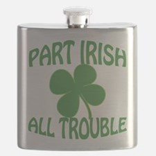 Part Irish All Trouble Flask