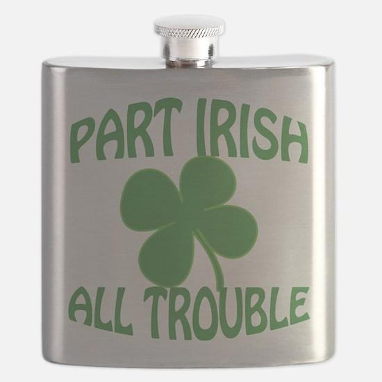 Part Irish All Trouble Flask