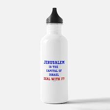 Jerusalem's Israel's C Water Bottle