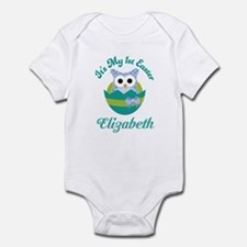 Babys 1st Easter Owl Personalized Body Suit