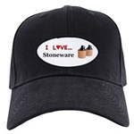 I Love Stoneware Black Cap