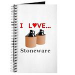 I Love Stoneware Journal