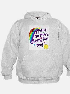 No more chemo - purple.BMP Sweatshirt