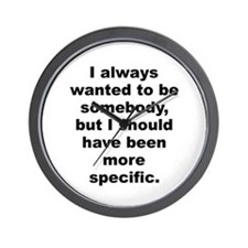 Wagner quote Wall Clock