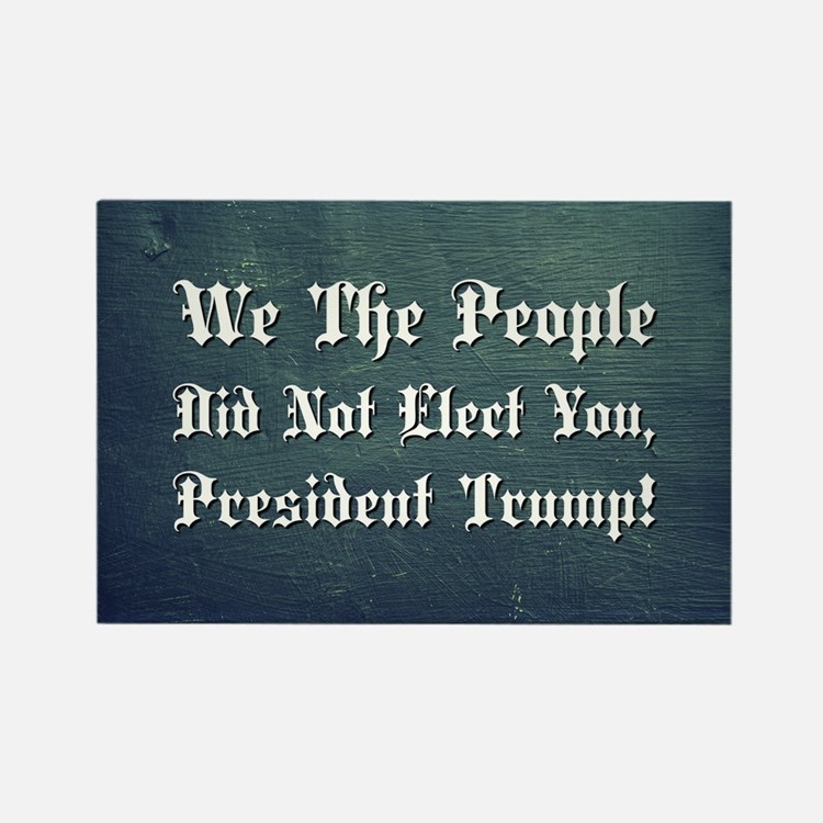 WE THE PEOPLE... Rectangle Magnet