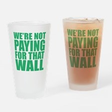 Funny Holiday wall Drinking Glass