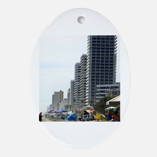 Cool Daytona Oval Ornament