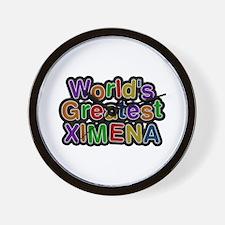World's Greatest Ximena Wall Clock