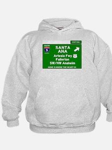 I5 INTERSTATE - CALIFORNIA - SANTA ANA Sweatshirt