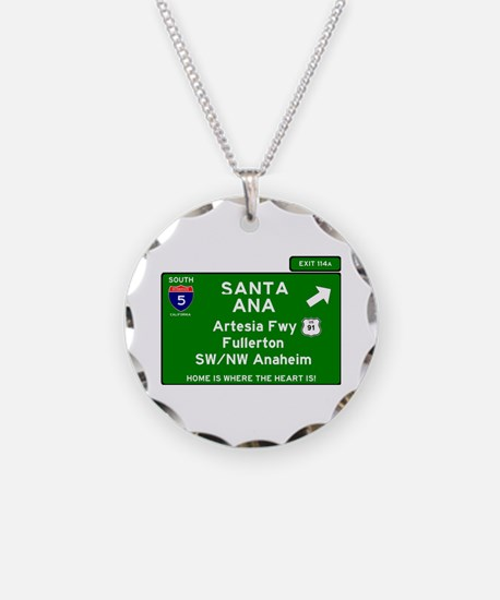 I5 INTERSTATE - CALIFORNIA - Necklace