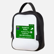I5 INTERSTATE - CALIFORNIA - SA Neoprene Lunch Bag